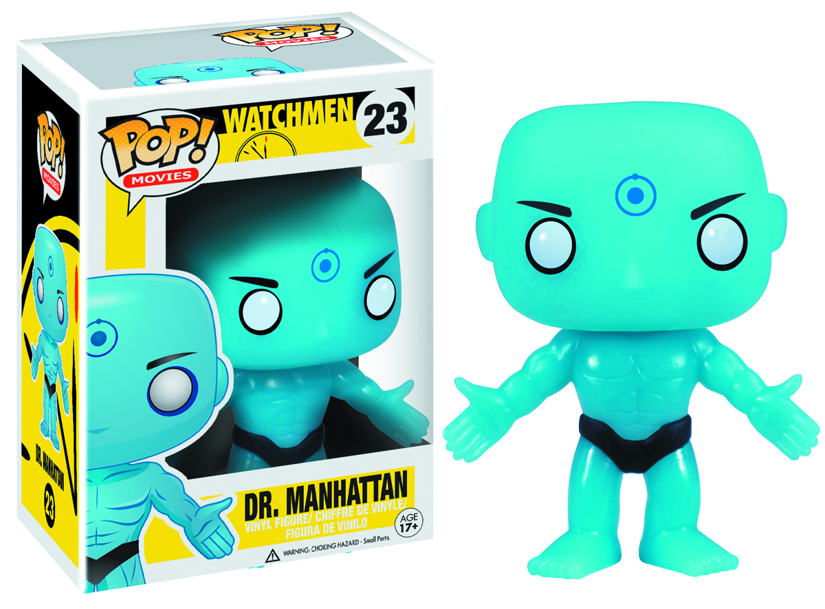 POP WATCHMEN DR MANHATTAN VINYL FIG