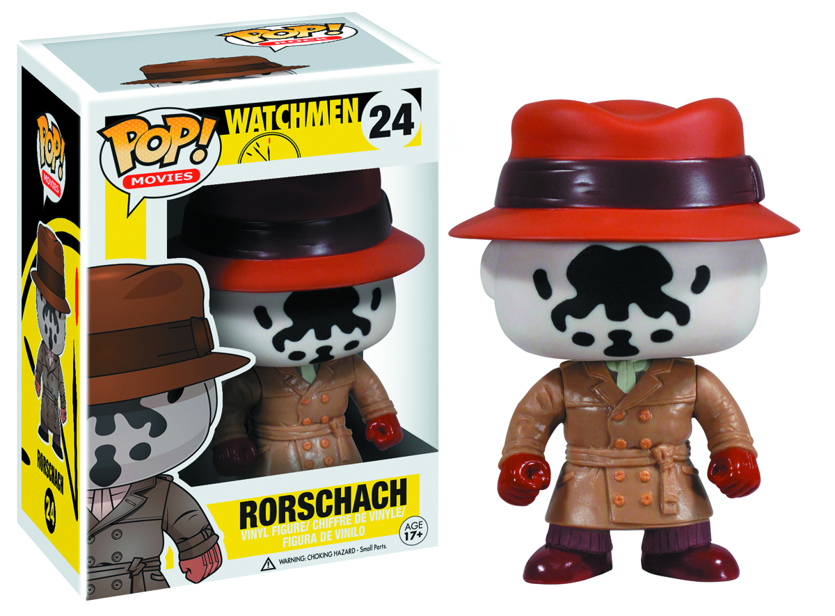 POP WATCHMEN RORSCHACH VINYL FIG