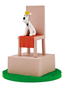 TINTIN BOX SCENE- SNOWY THRONE