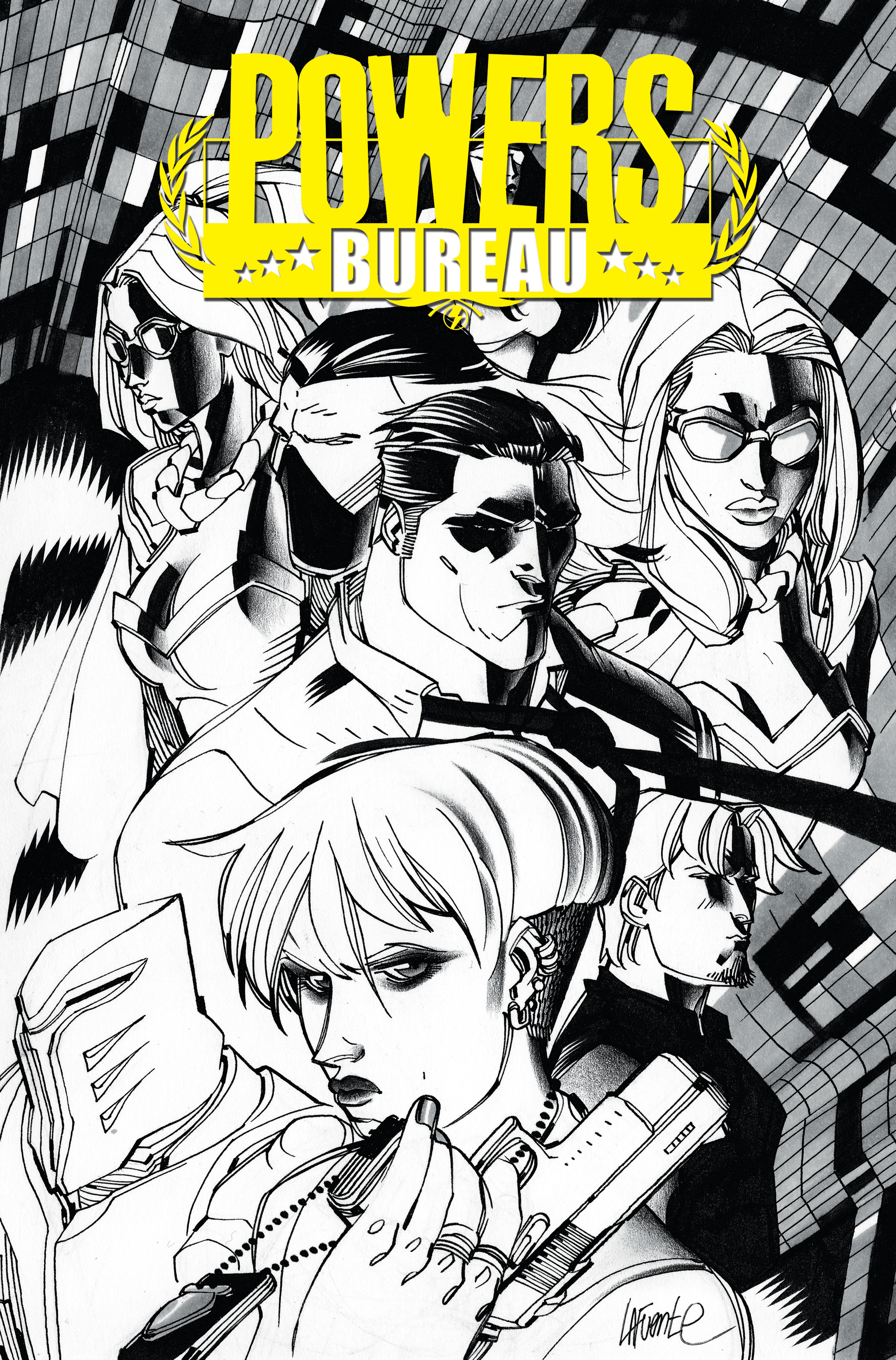 POWERS BUREAU #1 LAFUENTE VAR (MR)