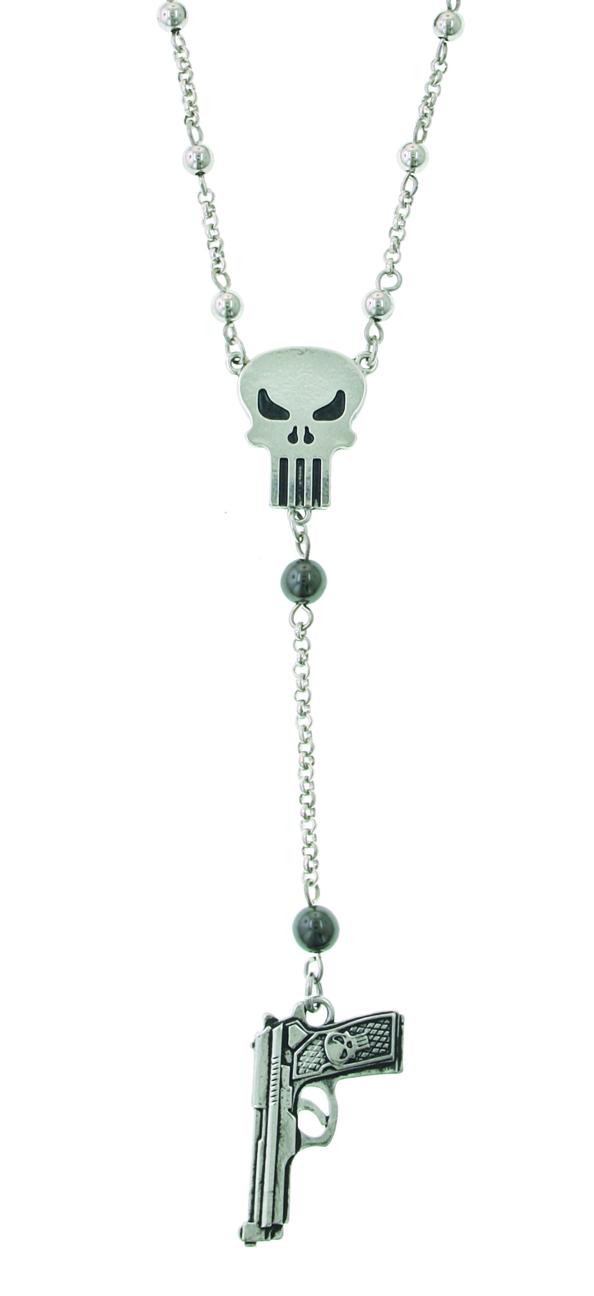 PUNISHER GUN CHARM NECKLACE