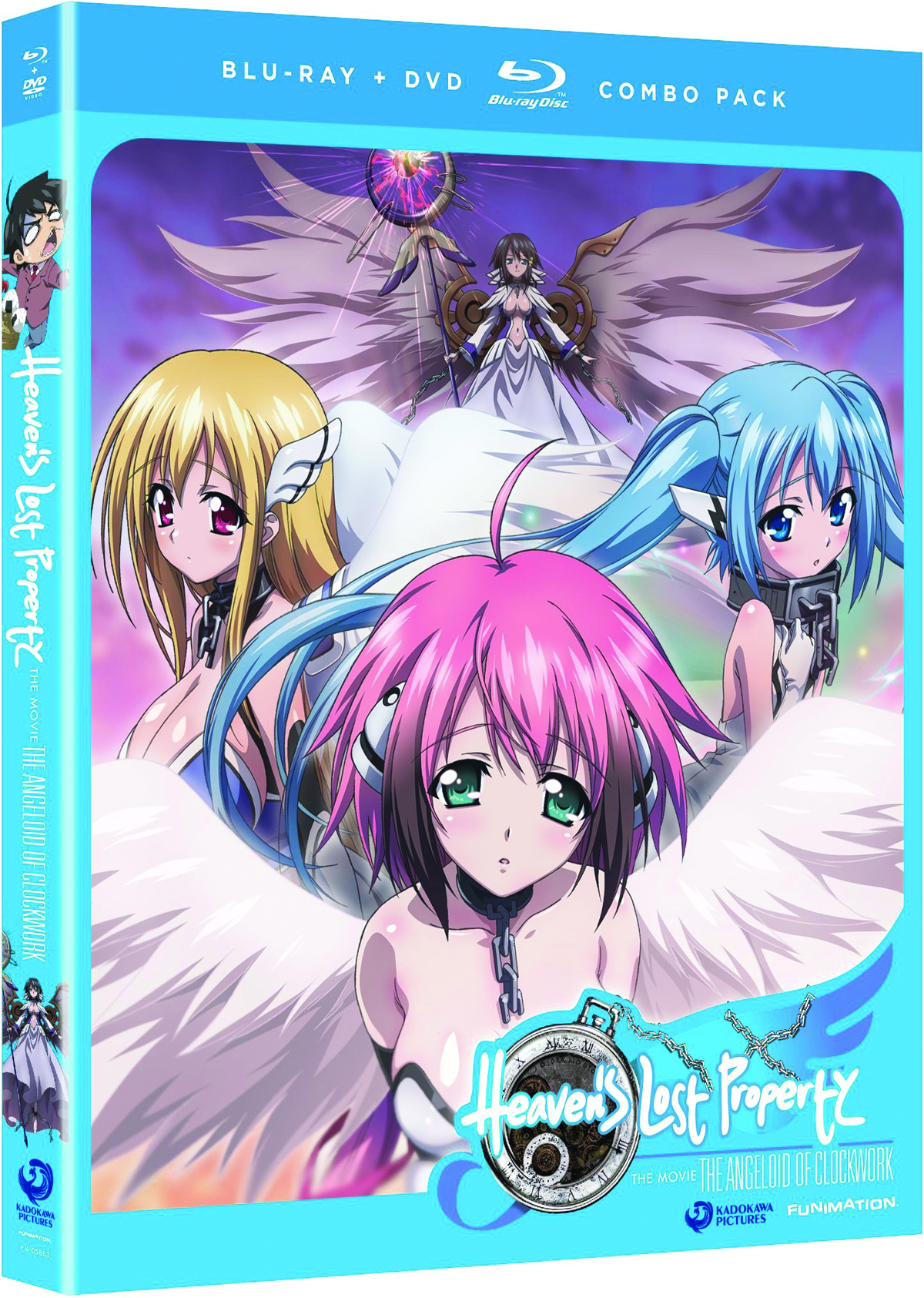 HEAVENS LOST PROPERTY ANGELOID OF CLOCKWORK BD + DVD
