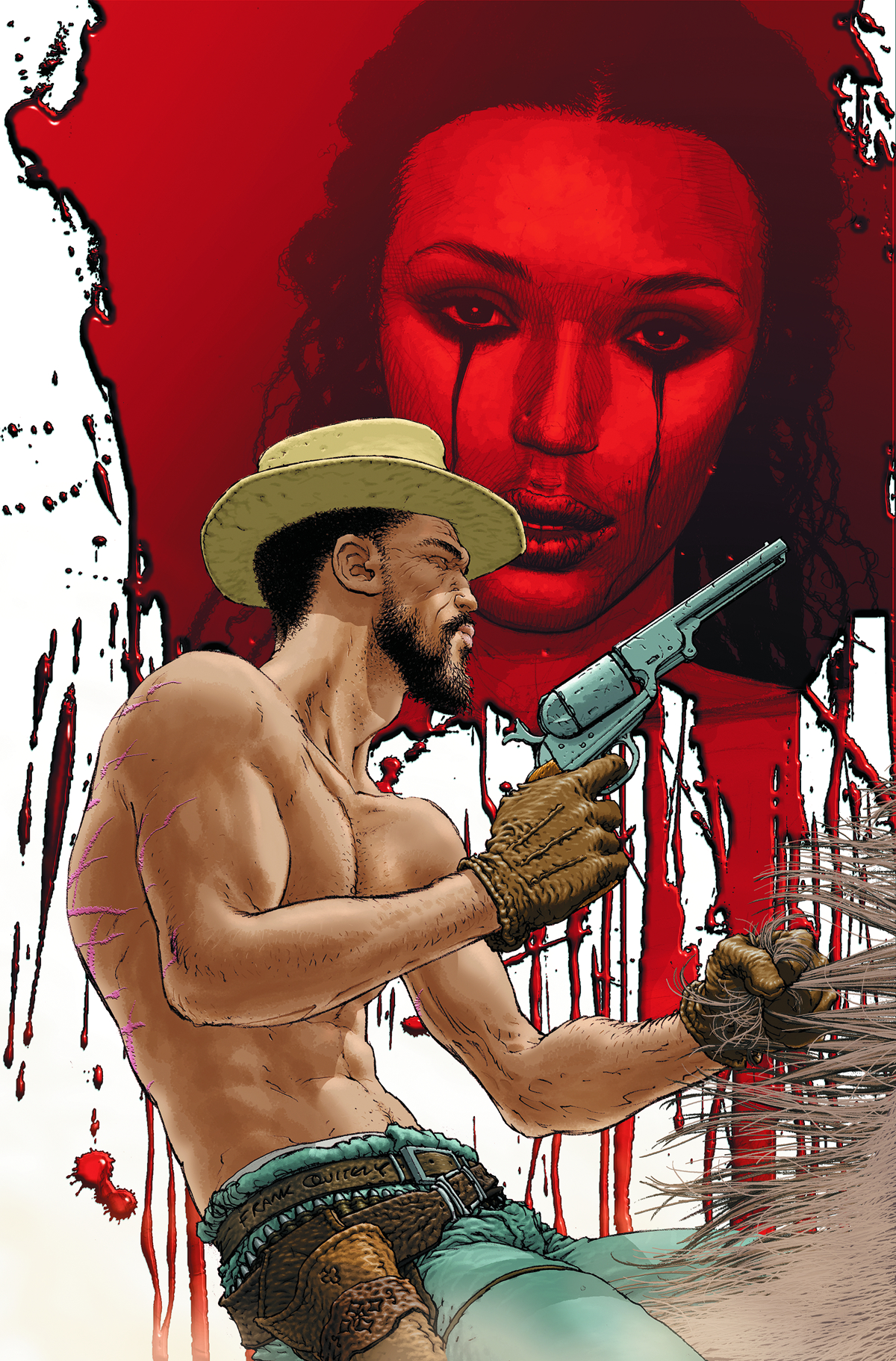DJANGO UNCHAINED #5 (OF 7) VAR ED (RES)