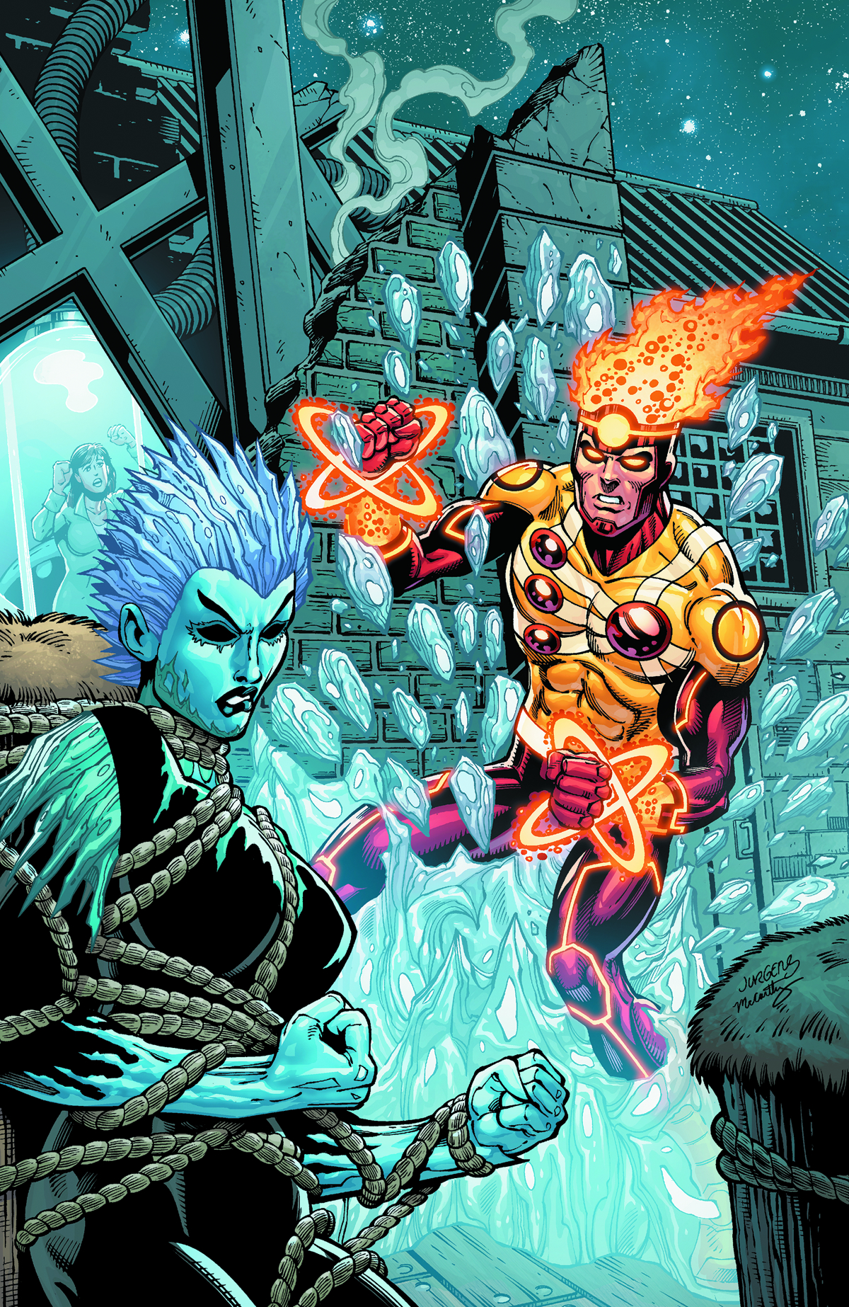 FURY OF FIRESTORM THE NUCLEAR MAN #19