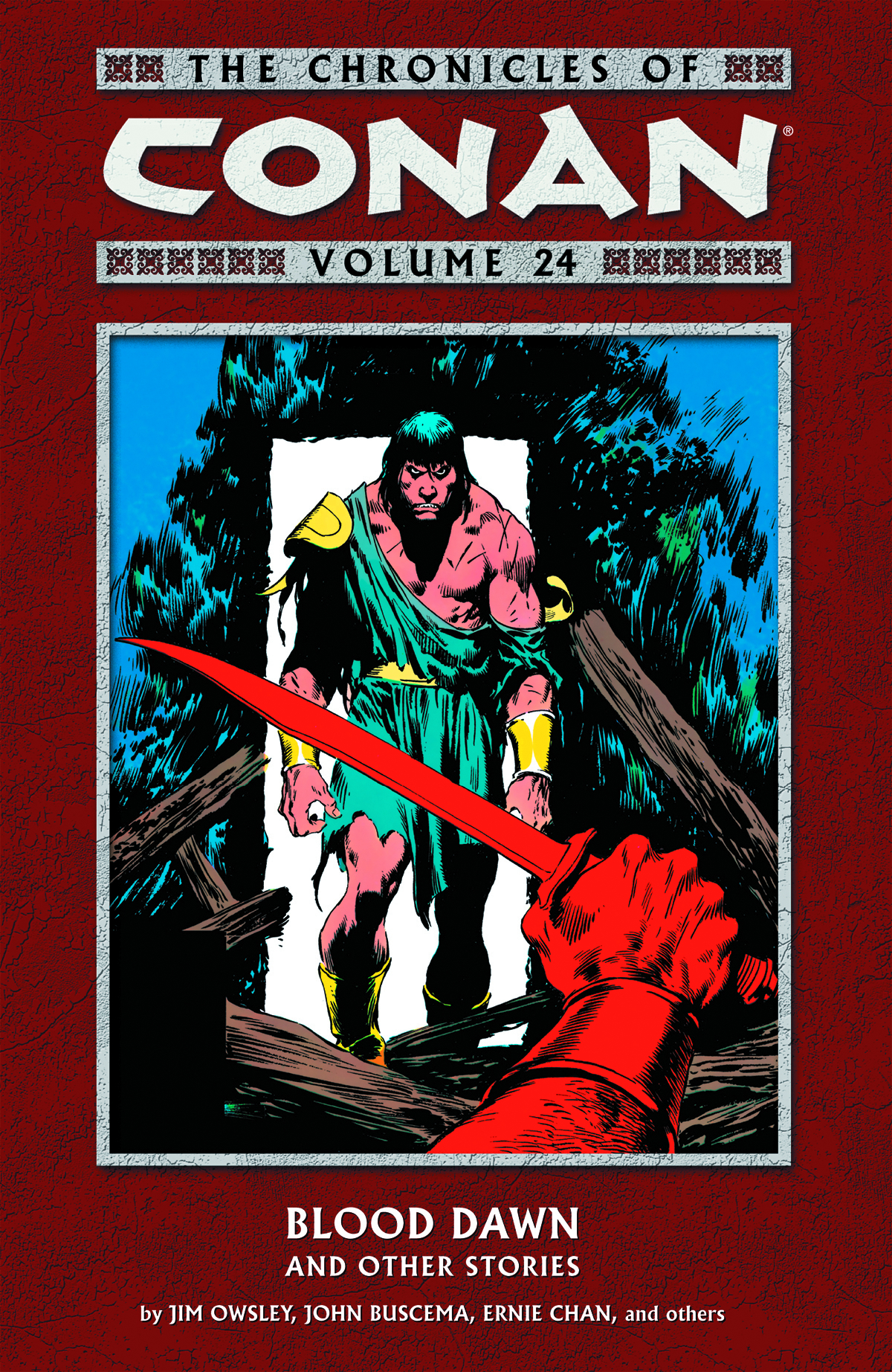 CHRONICLES OF CONAN TP VOL 24 BLOOD DAWN & OTHER STORIES