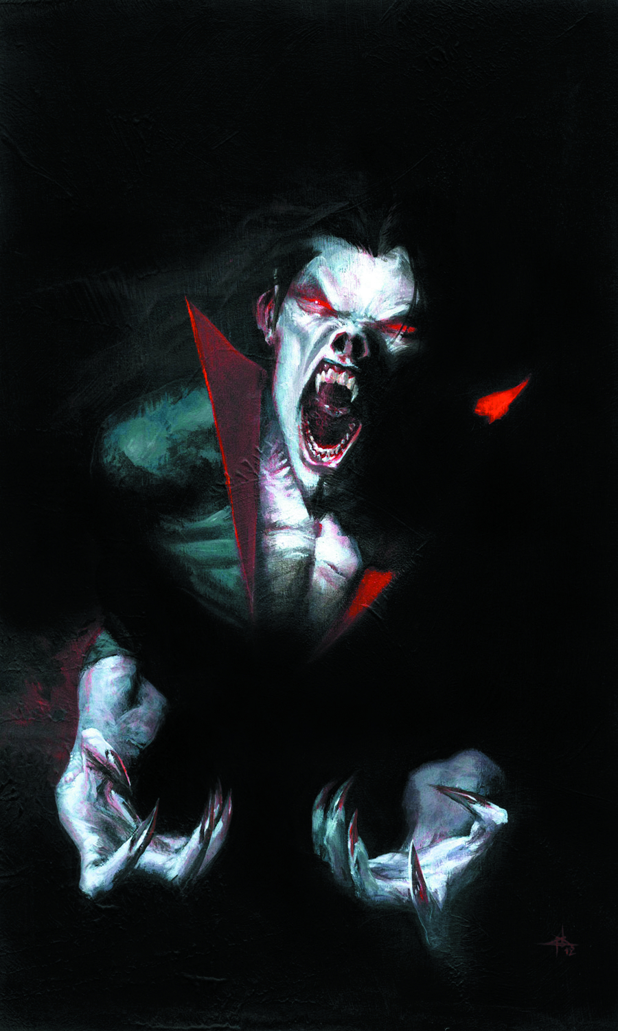 MORBIUS LIVING VAMPIRE #1 2ND PTG DELLOTTO VAR NOW