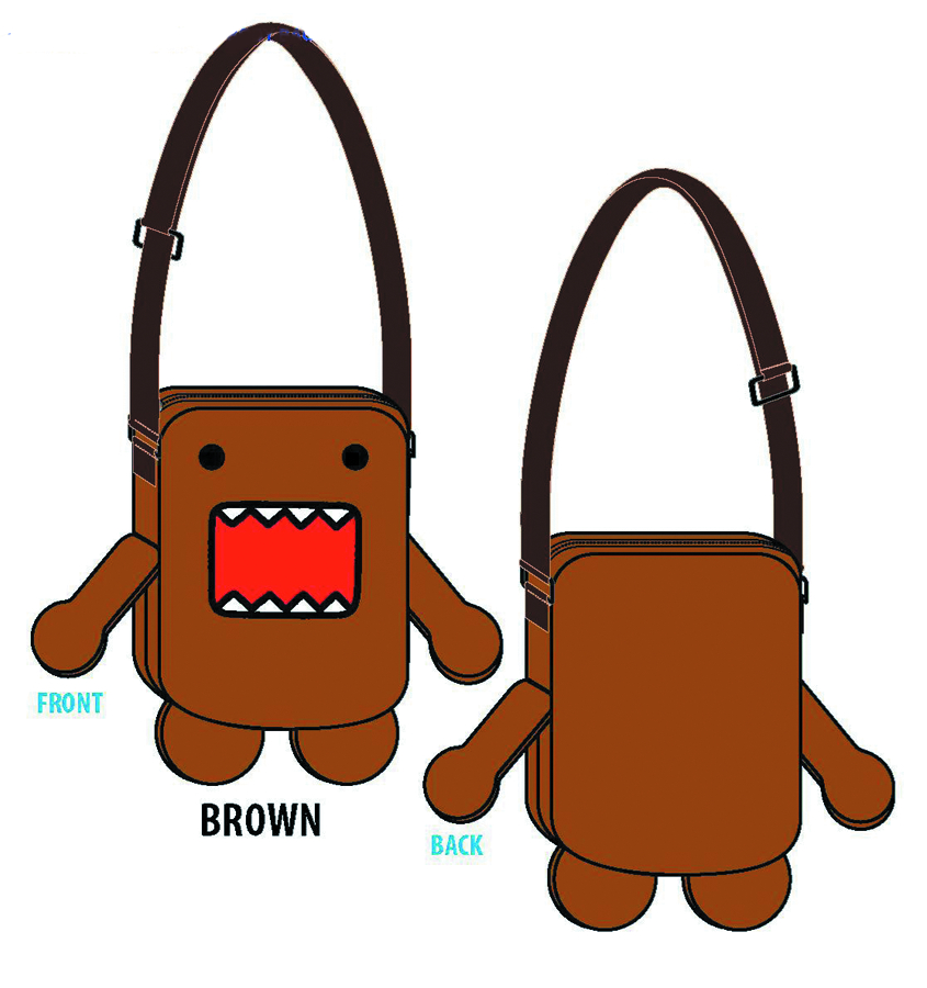 DOMO MINI PLUSH CROSS BODY BAG