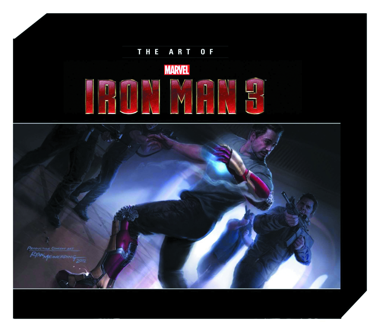 MARVELS IRON MAN 3 SLIPCASE HC ART OF MOVIE