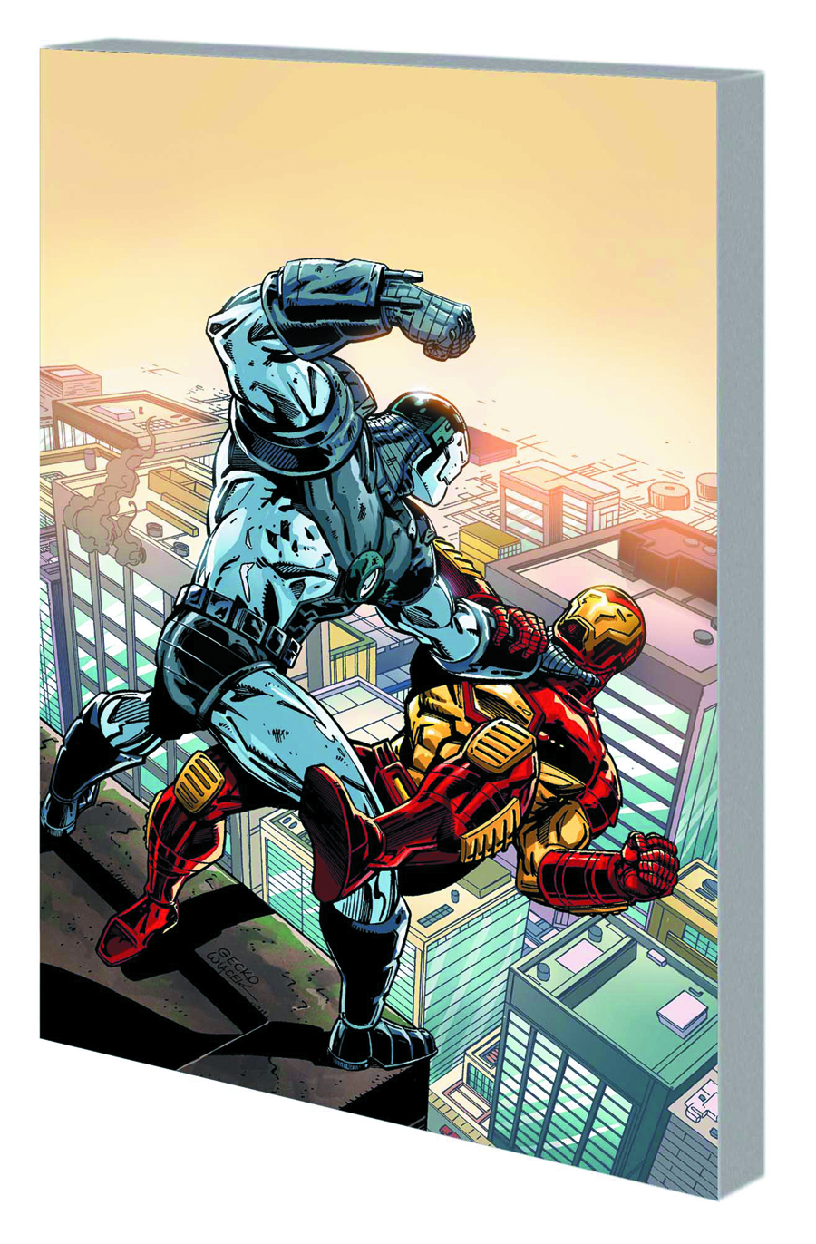 IRON MAN WAR MACHINE TP HANDS OF MANDARIN