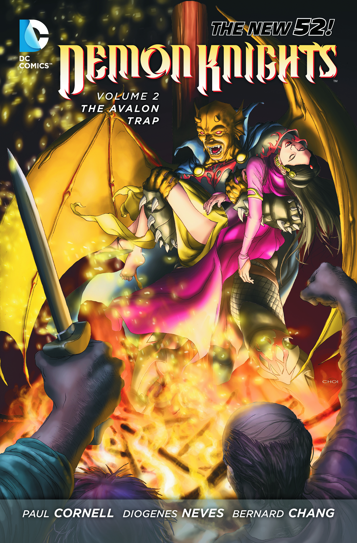 DEMON KNIGHTS TP VOL 02 THE AVALON TRAP