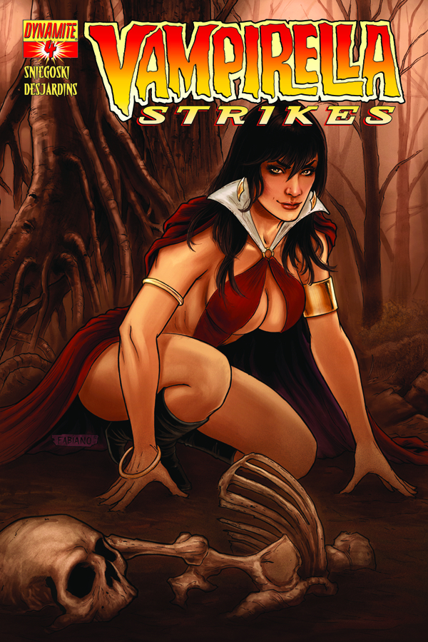 VAMPIRELLA STRIKES #4 CVR B NEVES