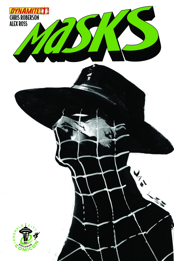 MASKS #1 EMERALD CITY COMICON SPIDER EXC LEE CVR