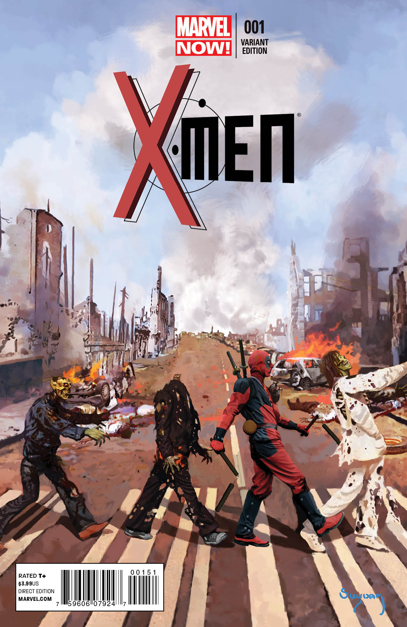 X-MEN #1 DEADPOOL VAR NOW