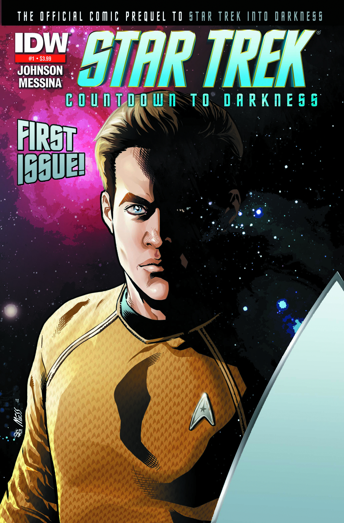 (USE FEB138002) STAR TREK COUNTDOWN TO DARKNESS #1 2ND PTG