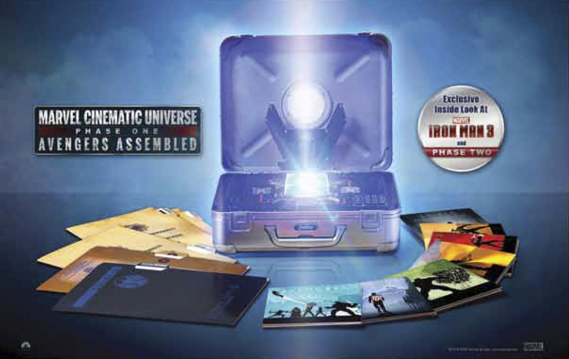 AVENGERS ASSEMBLED BD SET