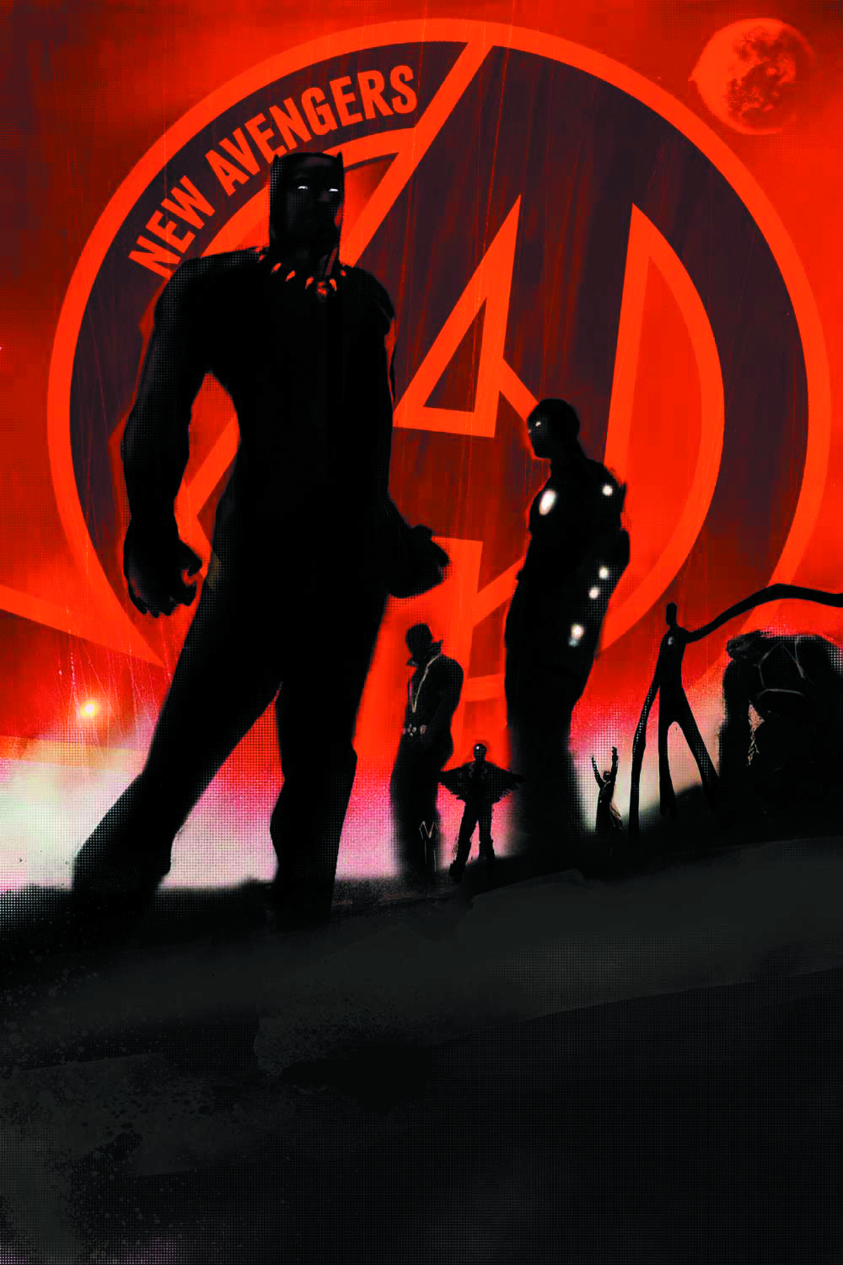 NEW AVENGERS #1 2ND PTG EPTING VAR NOW