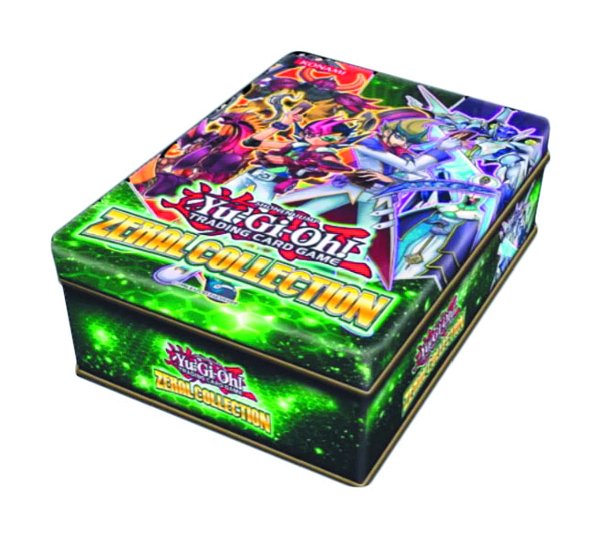 YU GI OH TCG ZEXAL TIN COLLECTION CASE