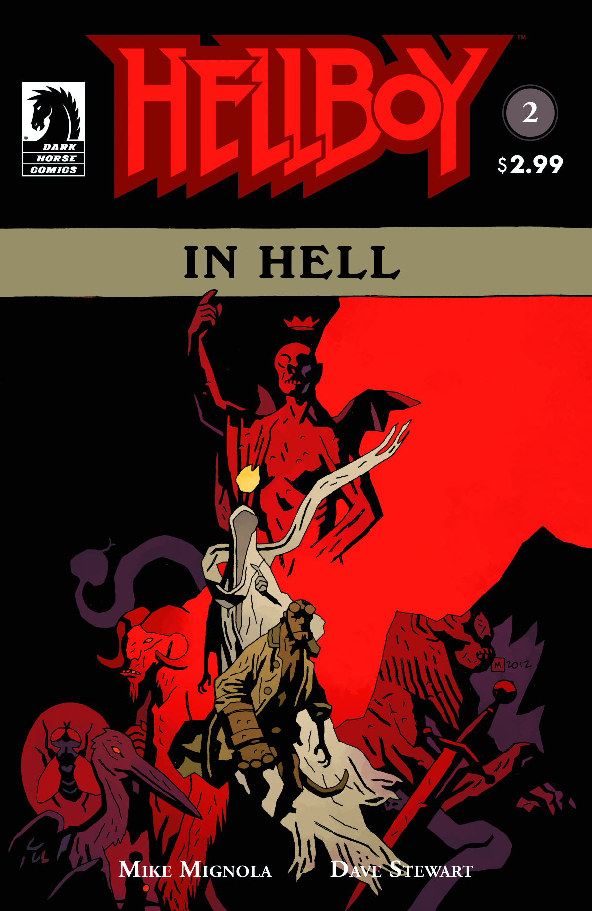 HELLBOY IN HELL #2 (2ND PTG)