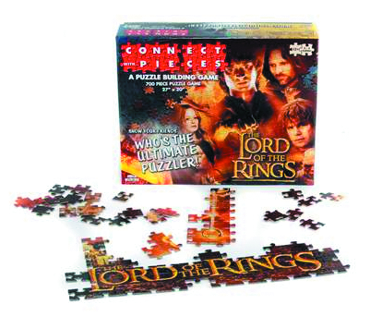LOTR CONNECT WITH PIECES PUZZLE BUILDING GAME