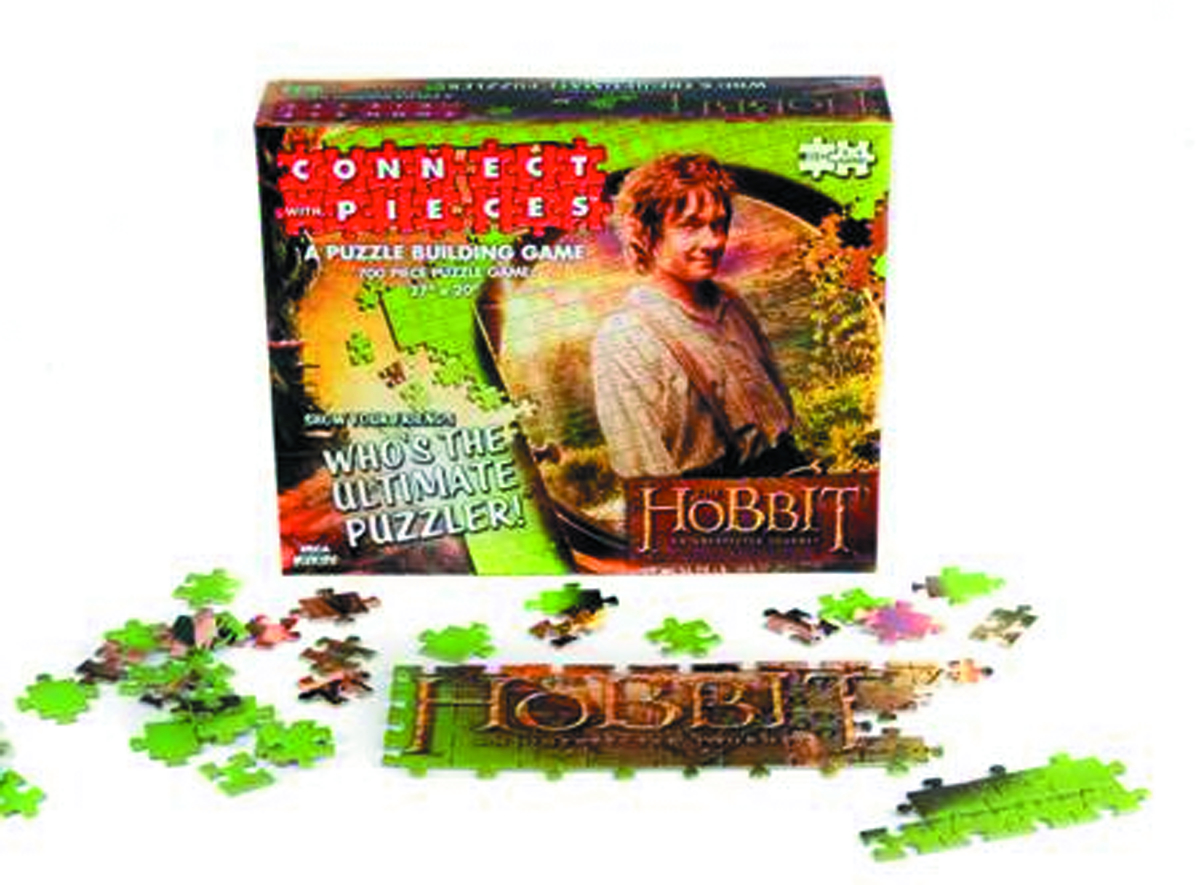 HOBBIT CONNECT WITH PIECES PUZZLE BUILDING GAME