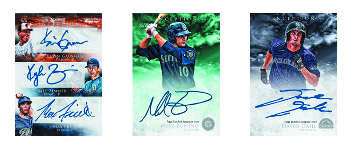 BOWMAN 2013 INCEPTION BASEBALL T/C BOX