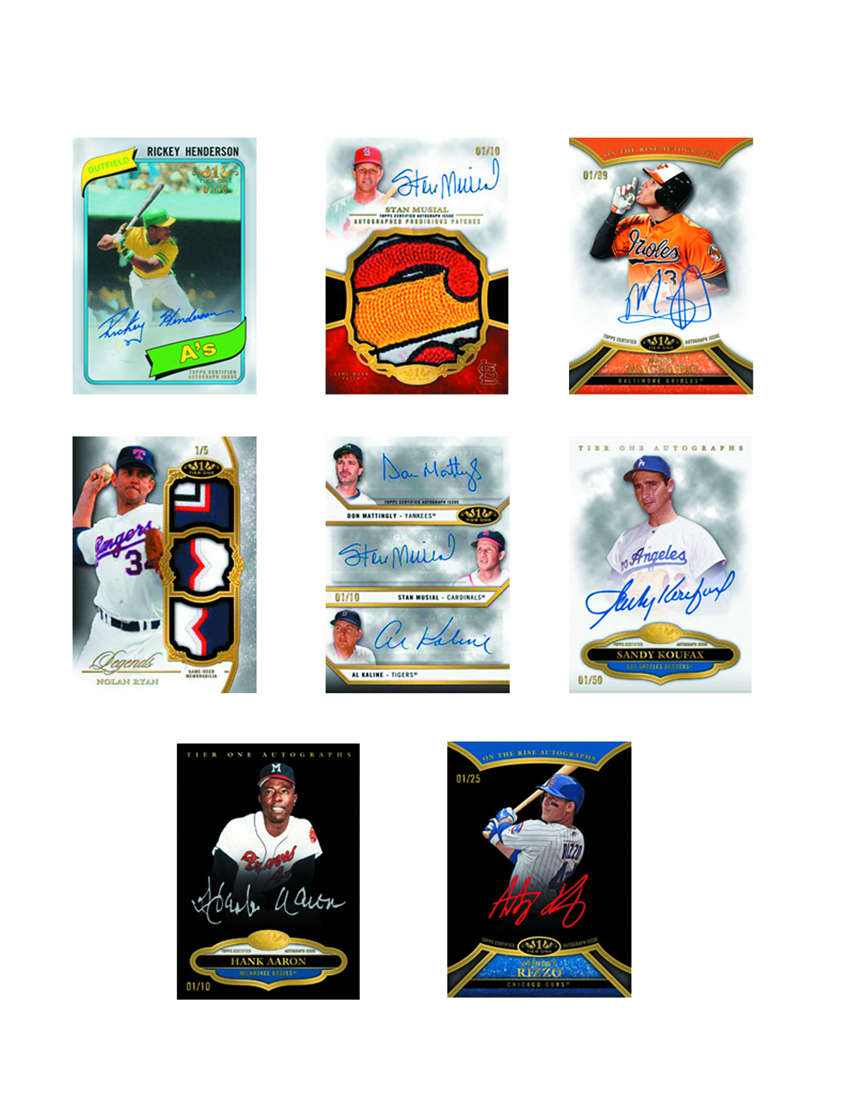 TOPPS 2013 TIER ONE BASEBALL T/C BOX