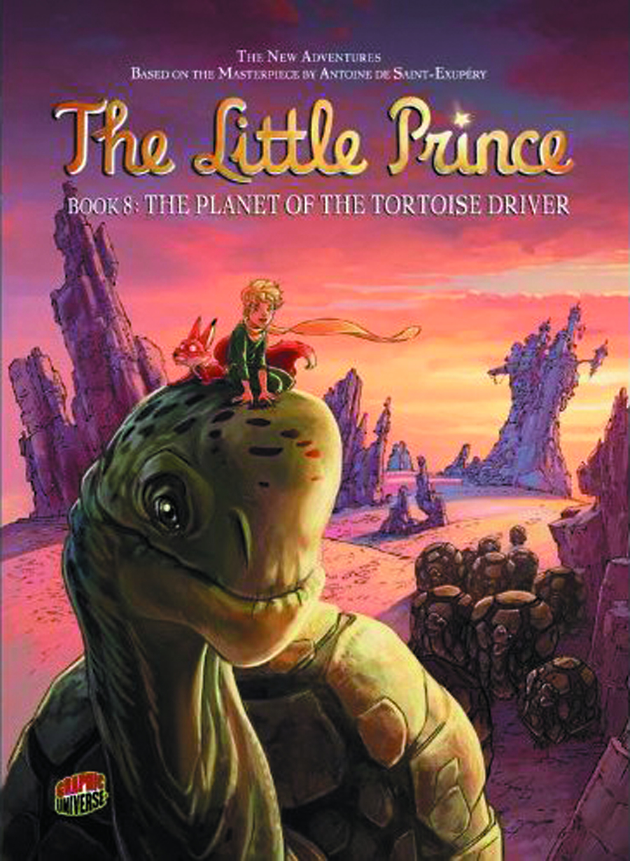 LITTLE PRINCE GN VOL 08 PLANET OF TORTOISE DRIVER