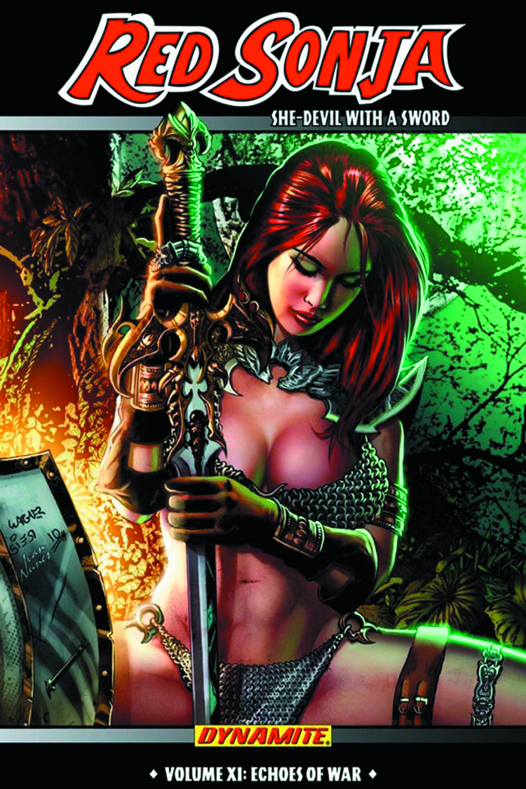 RED SONJA SHE DEVIL TP VOL 11 ECHOES OF WAR