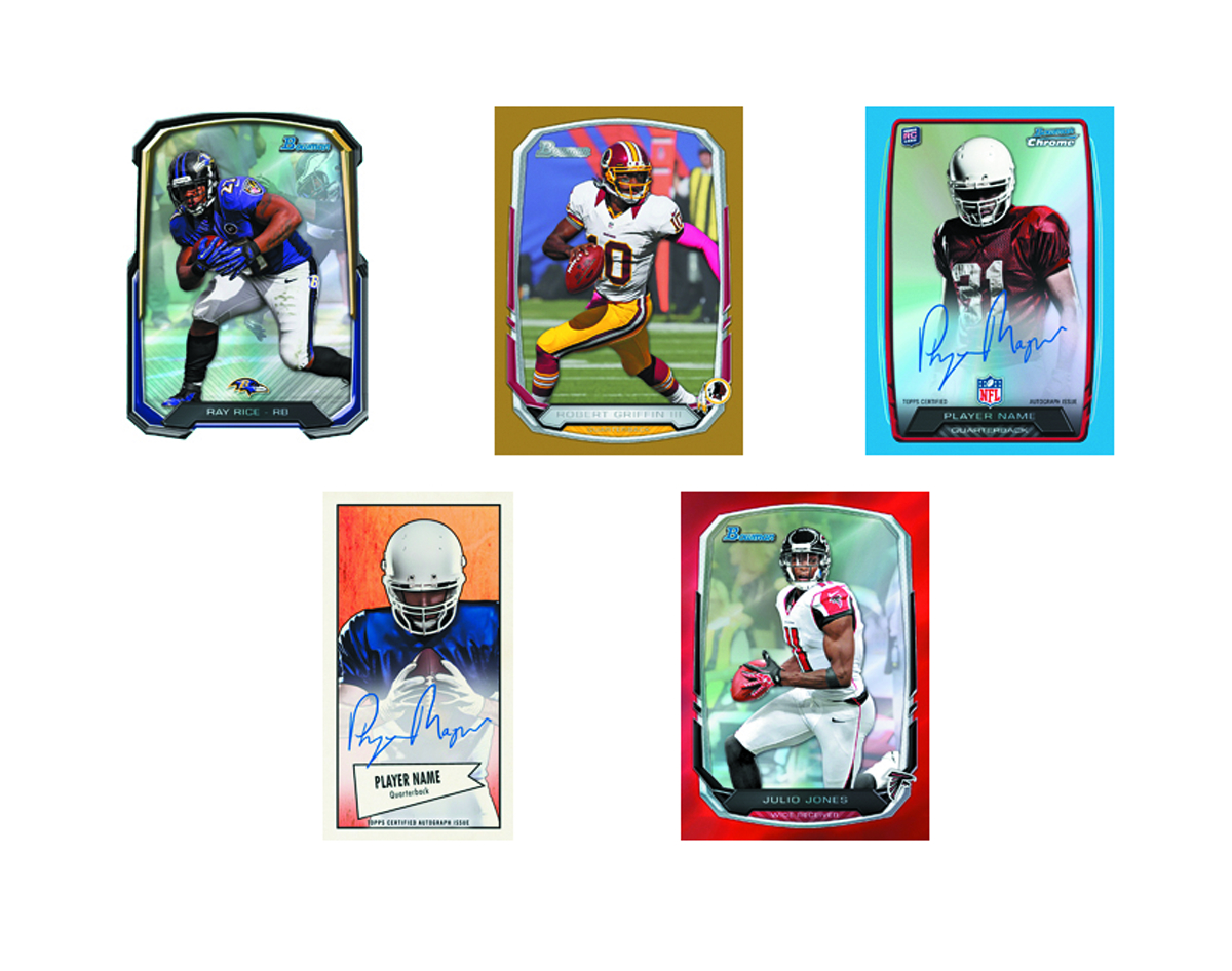 BOWMAN 2013 FOOTBALL T/C BOX