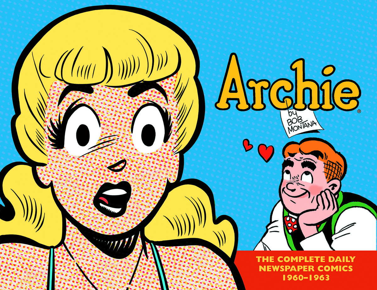 ARCHIE COMPLETE DAILY NEWSPAPER COMICS HC 1960-1963