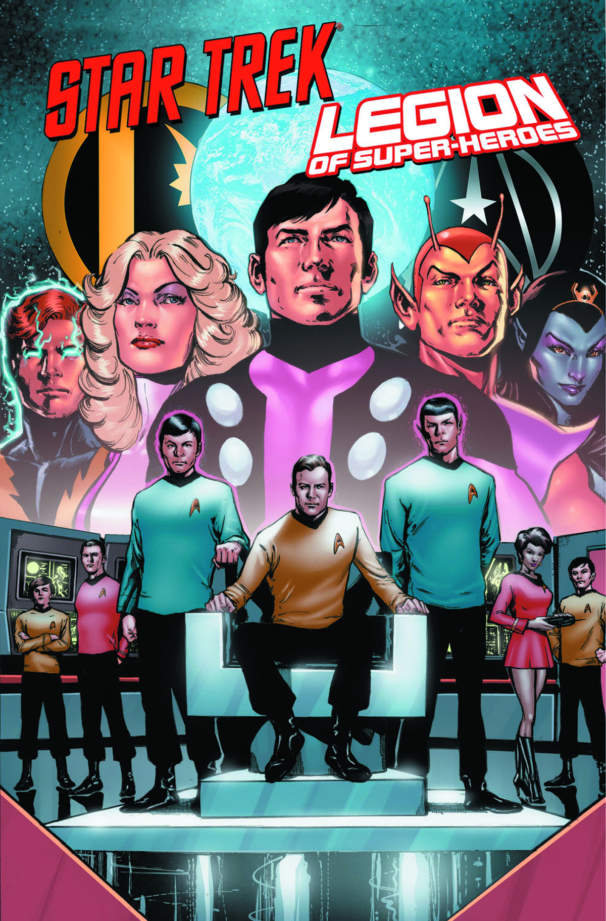 STAR TREK LEGION OF SUPERHEROES TP