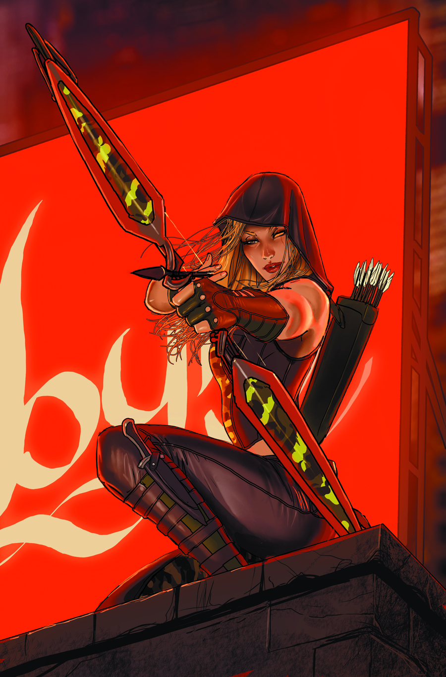 GFT ROBYN HOOD WANTED #1 (OF 5) B CVR SEJIC