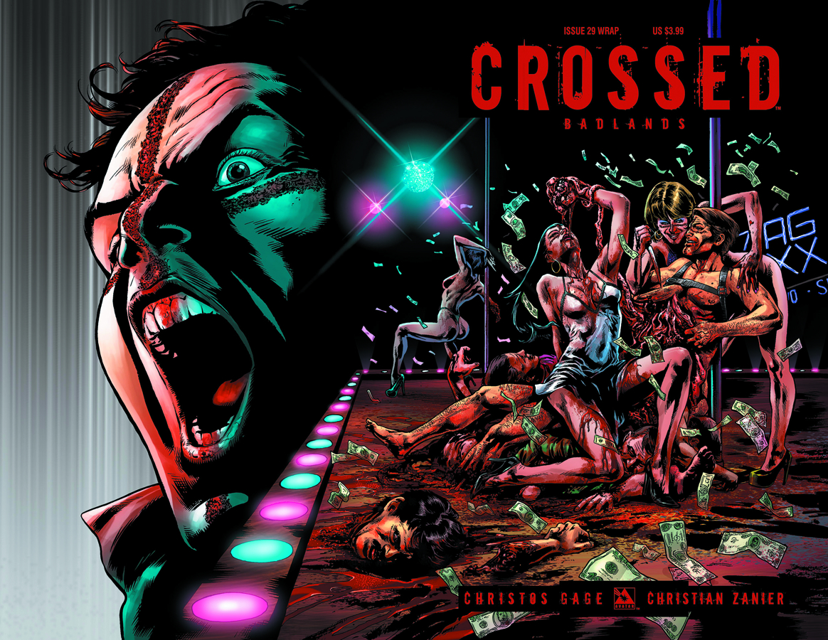 CROSSED BADLANDS #29 WRAP CVR