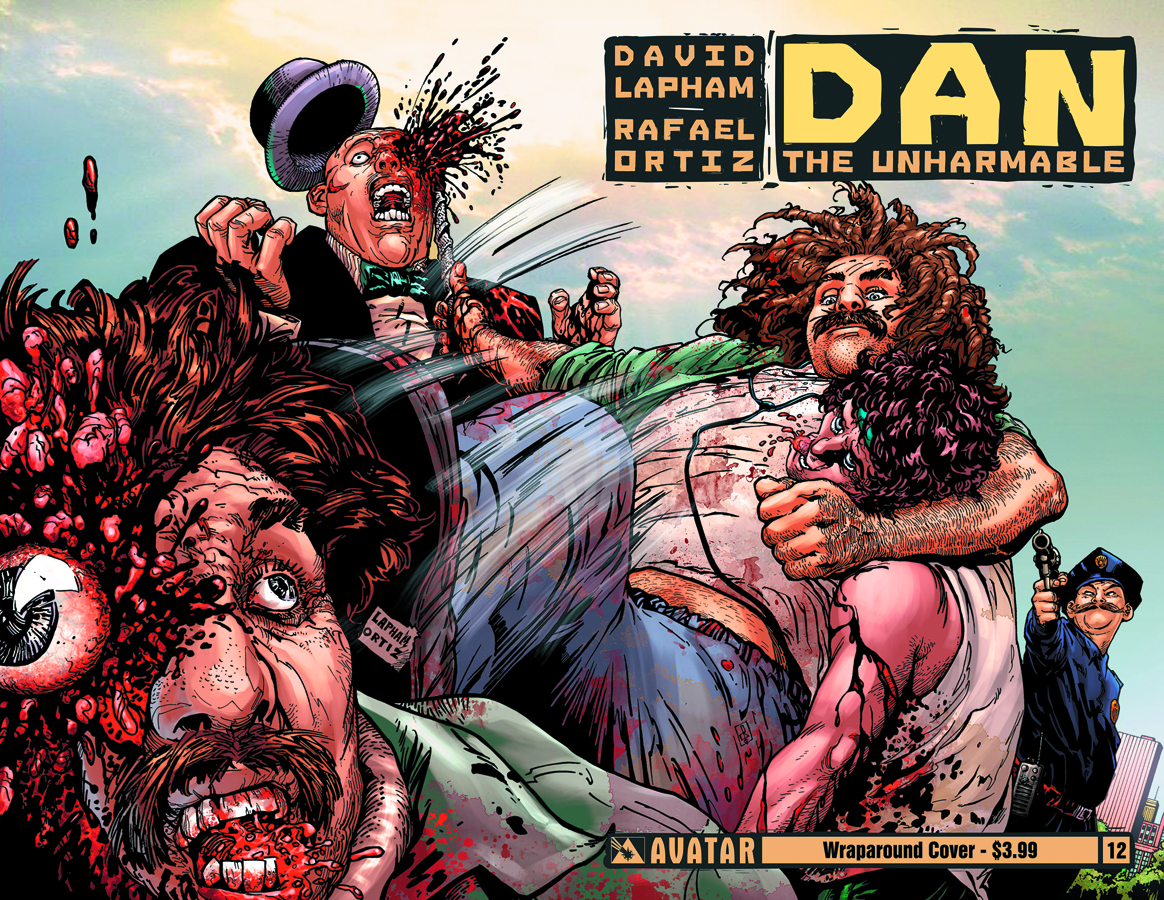 DAN THE UNHARMABLE #12 WRAP CVR