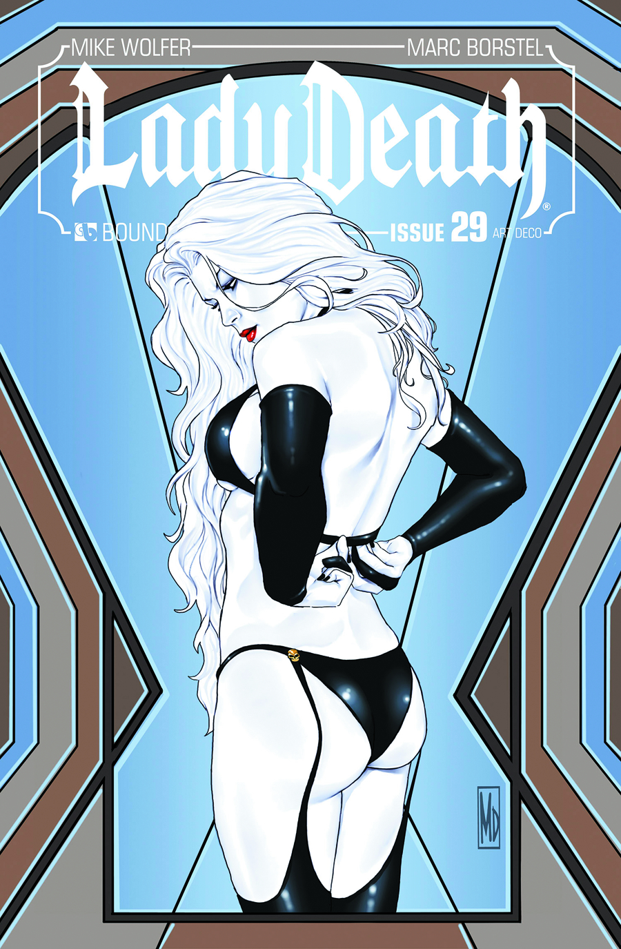 LADY DEATH (ONGOING) #29 ART DECO 3 COPY INCV