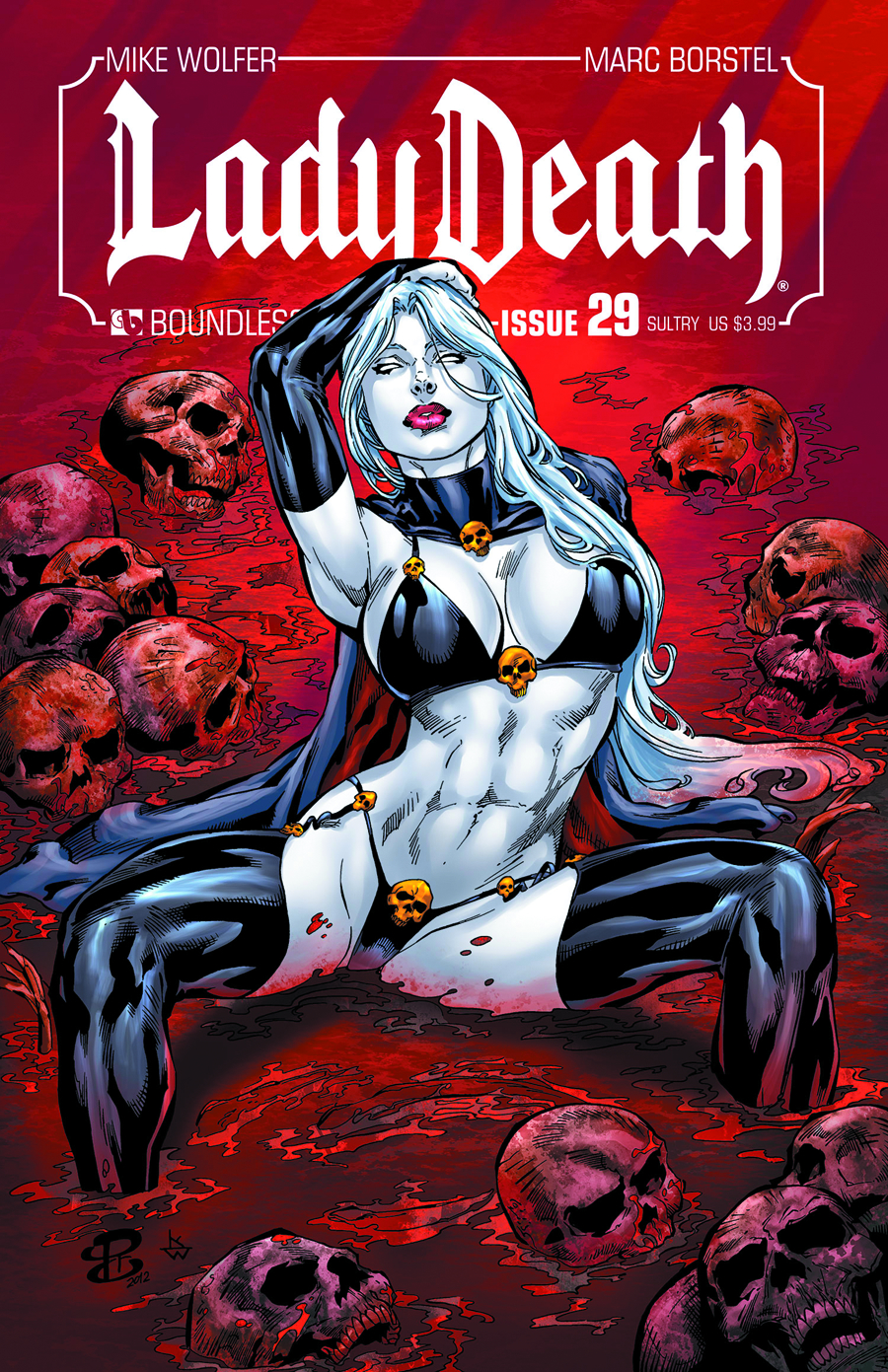 LADY DEATH (ONGOING) #29 SULTRY CVR