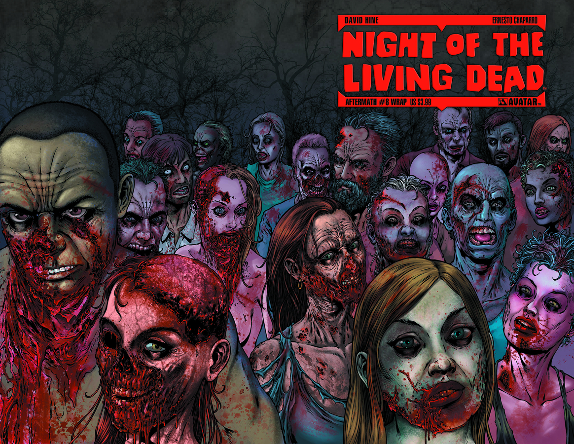 NIGHT O/T LIVING DEAD AFTERMATH #8 WRAP CVR