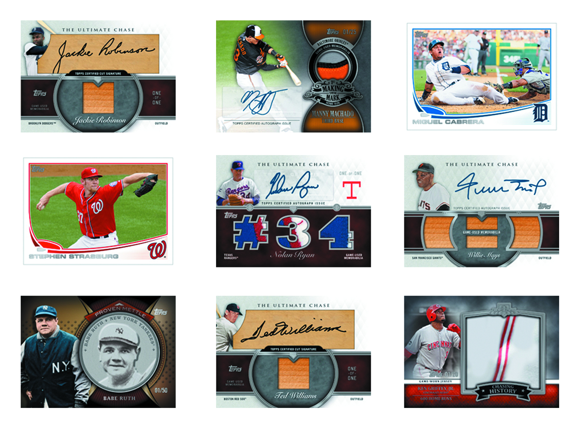 TOPPS 2013 BASEBALL SERIES 2 T/C JUMBO BOX