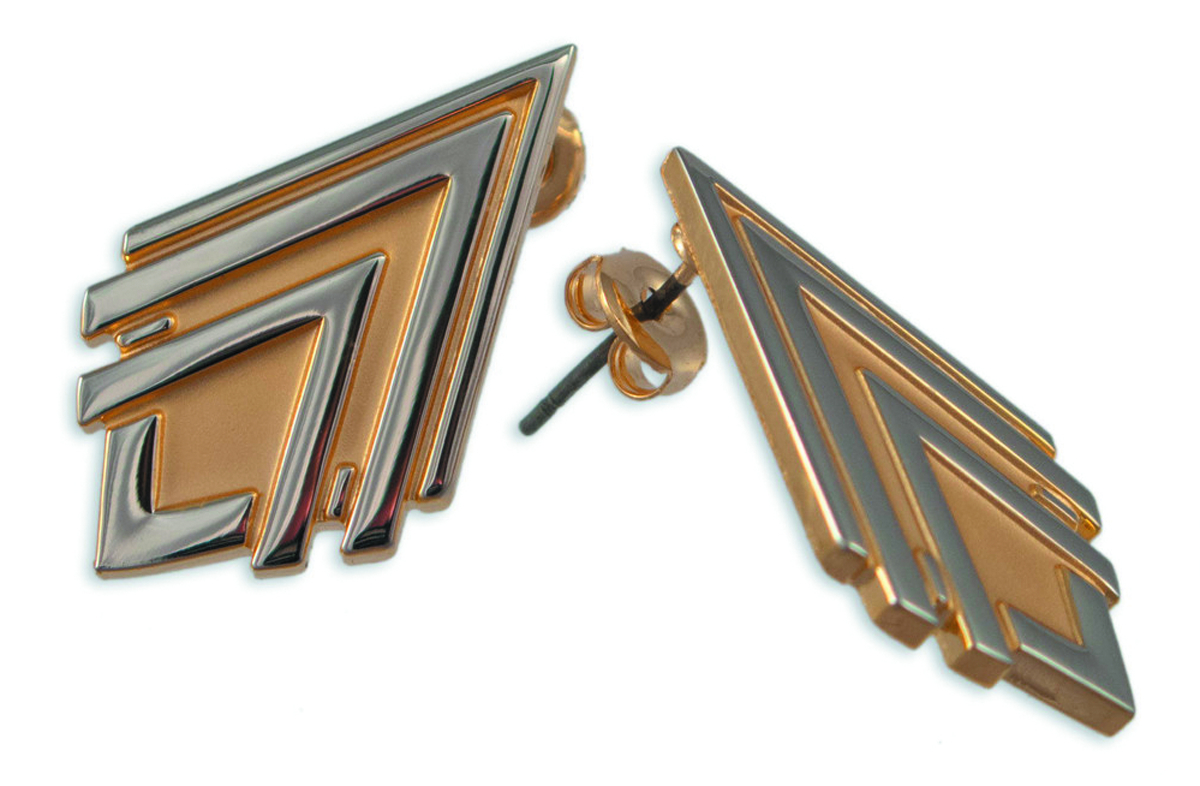 BSG CAPTAIN THRACE EARRING SET