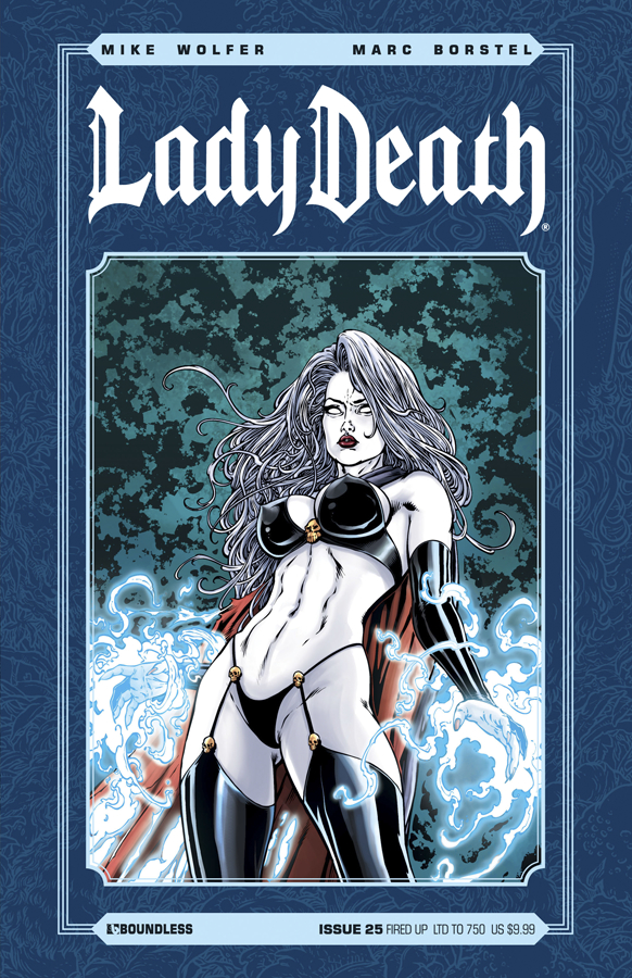 LADY DEATH (ONGOING) #25 FIRED UP CVR (RES)