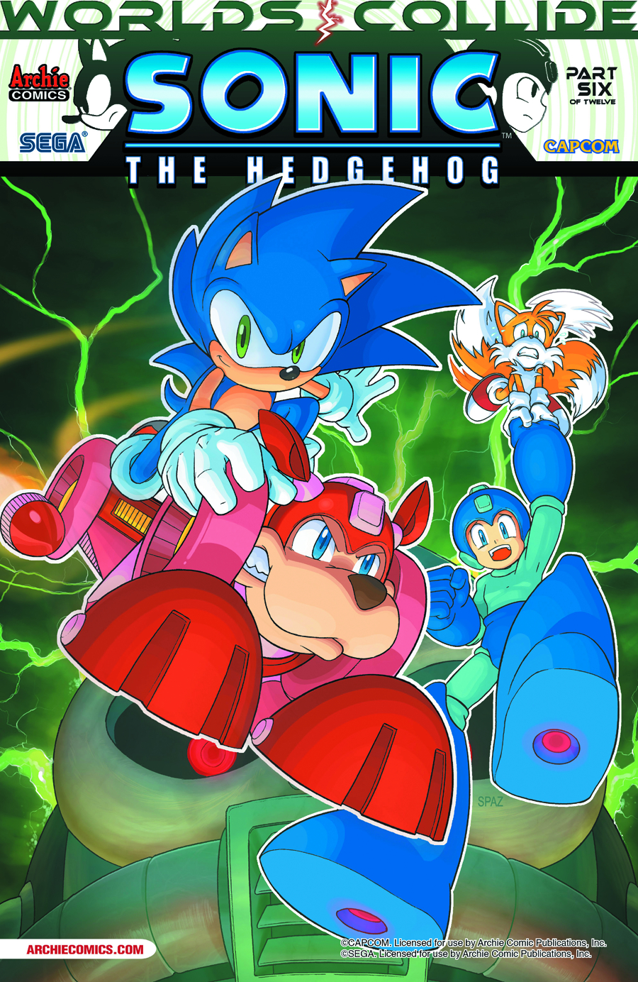 SONIC THE HEDGEHOG #249 REG CVR
