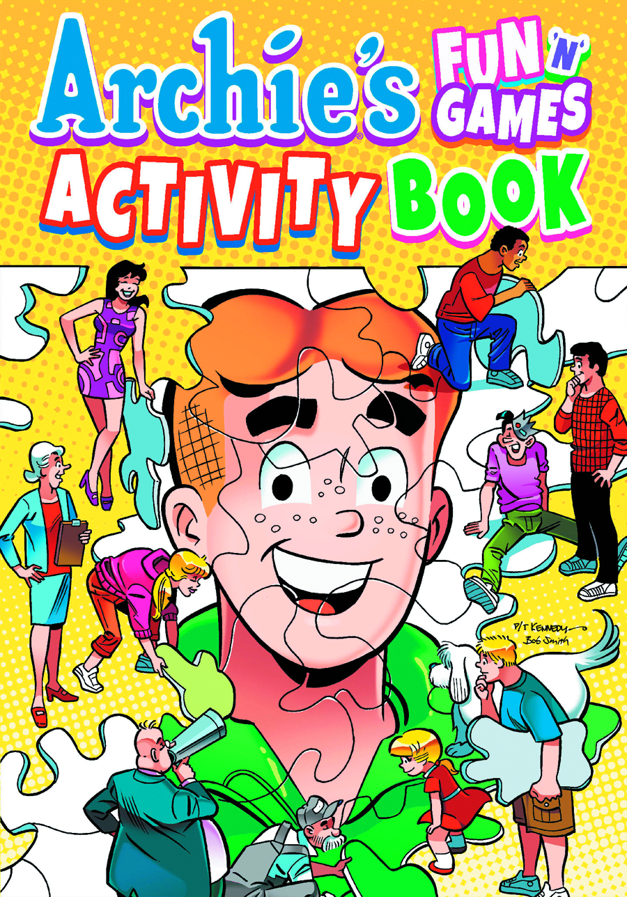 ARCHIE FUN N GAMES ACTIVITY BOOK VOL 01