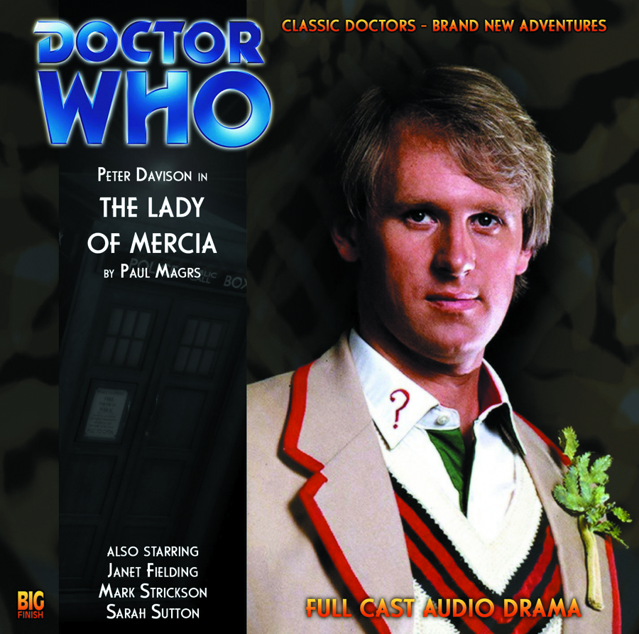 DOCTOR WHO LADY OF MERCIA AUDIO CD