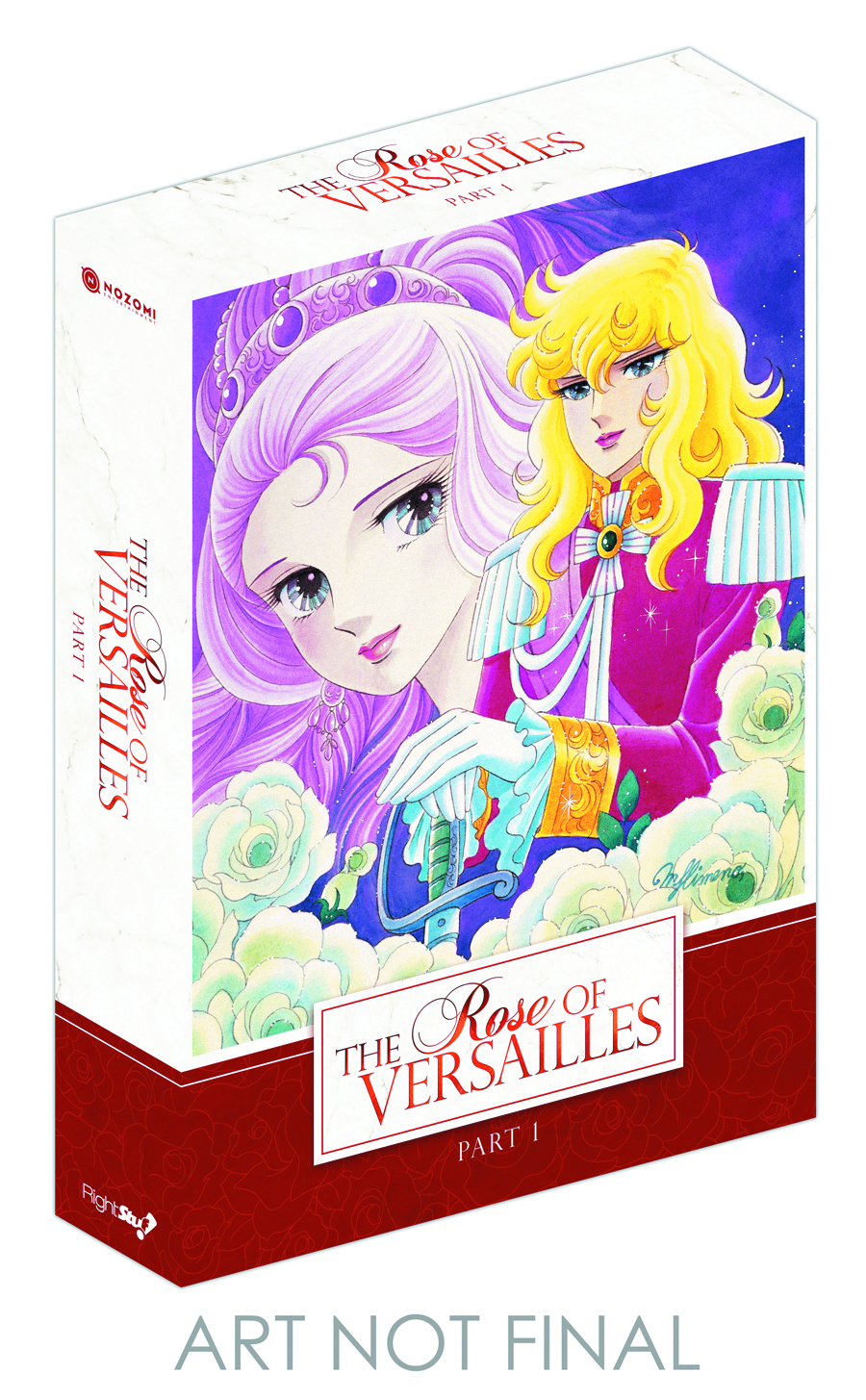 ROSE OF VERSAILLES DVD PT 01