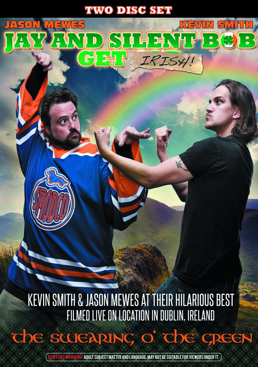 JAY AND SILENT BOB GET IRISH DVD