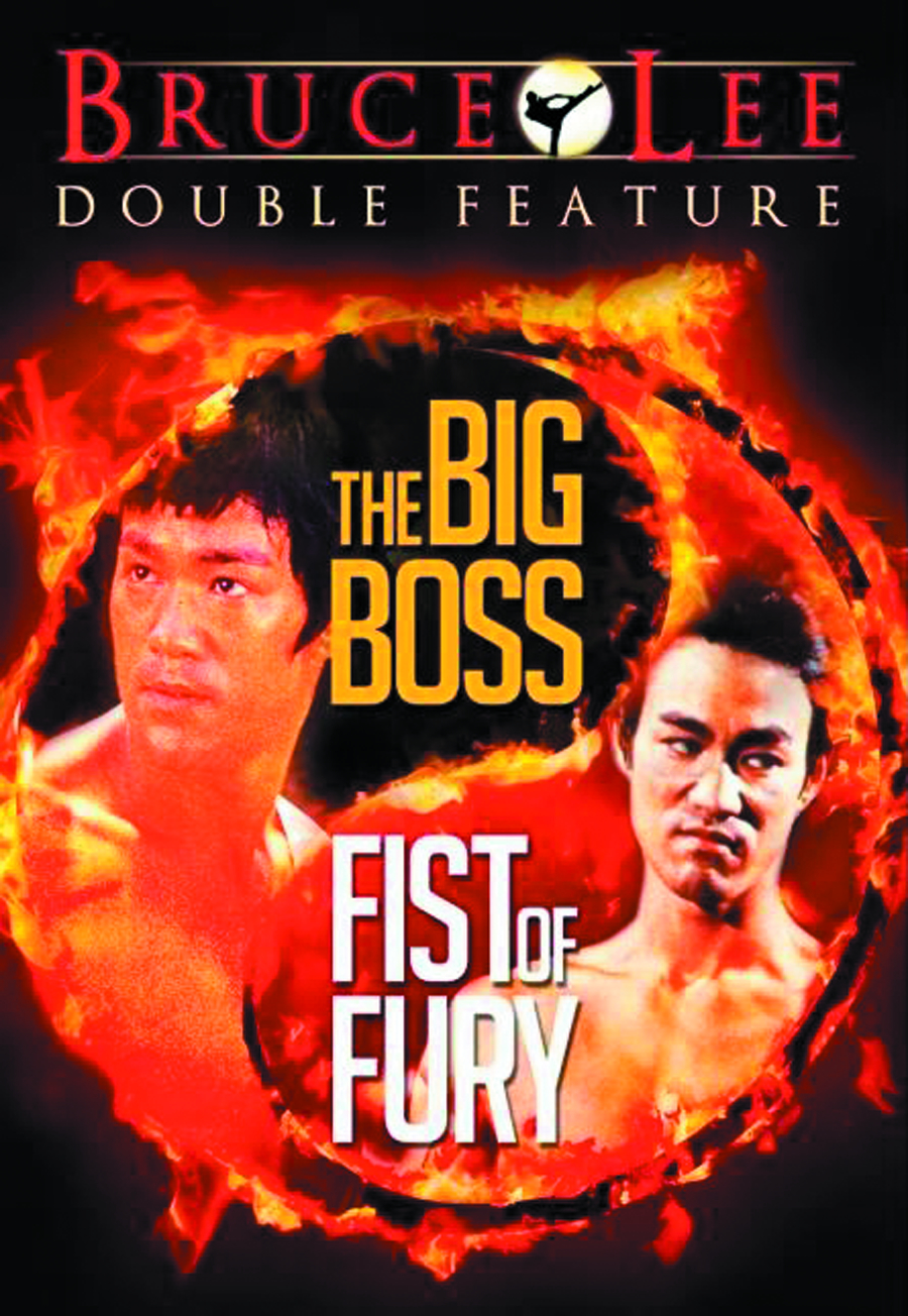 BIG BOSS/FIST OF FURY DVD
