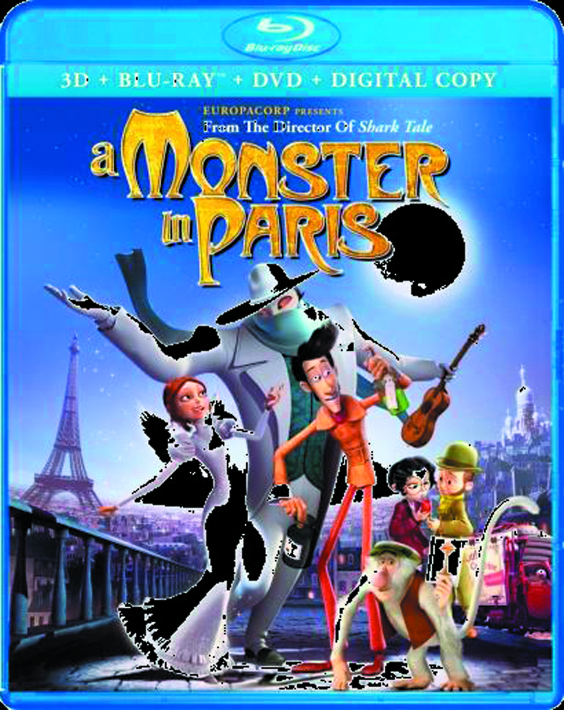MONSTER IN PARIS 3D BD + DVD