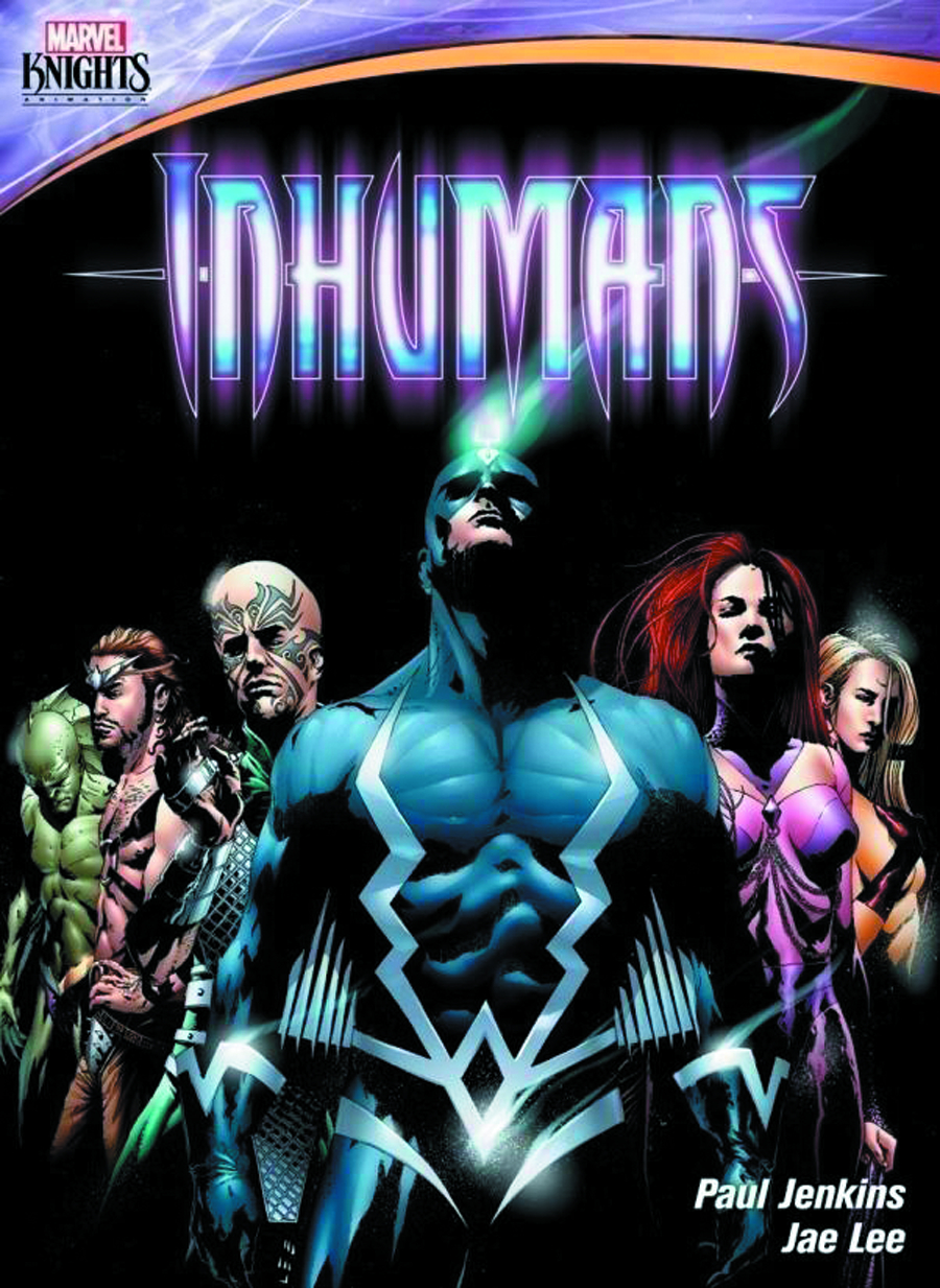 MARVEL KNIGHTS INHUMANS DVD