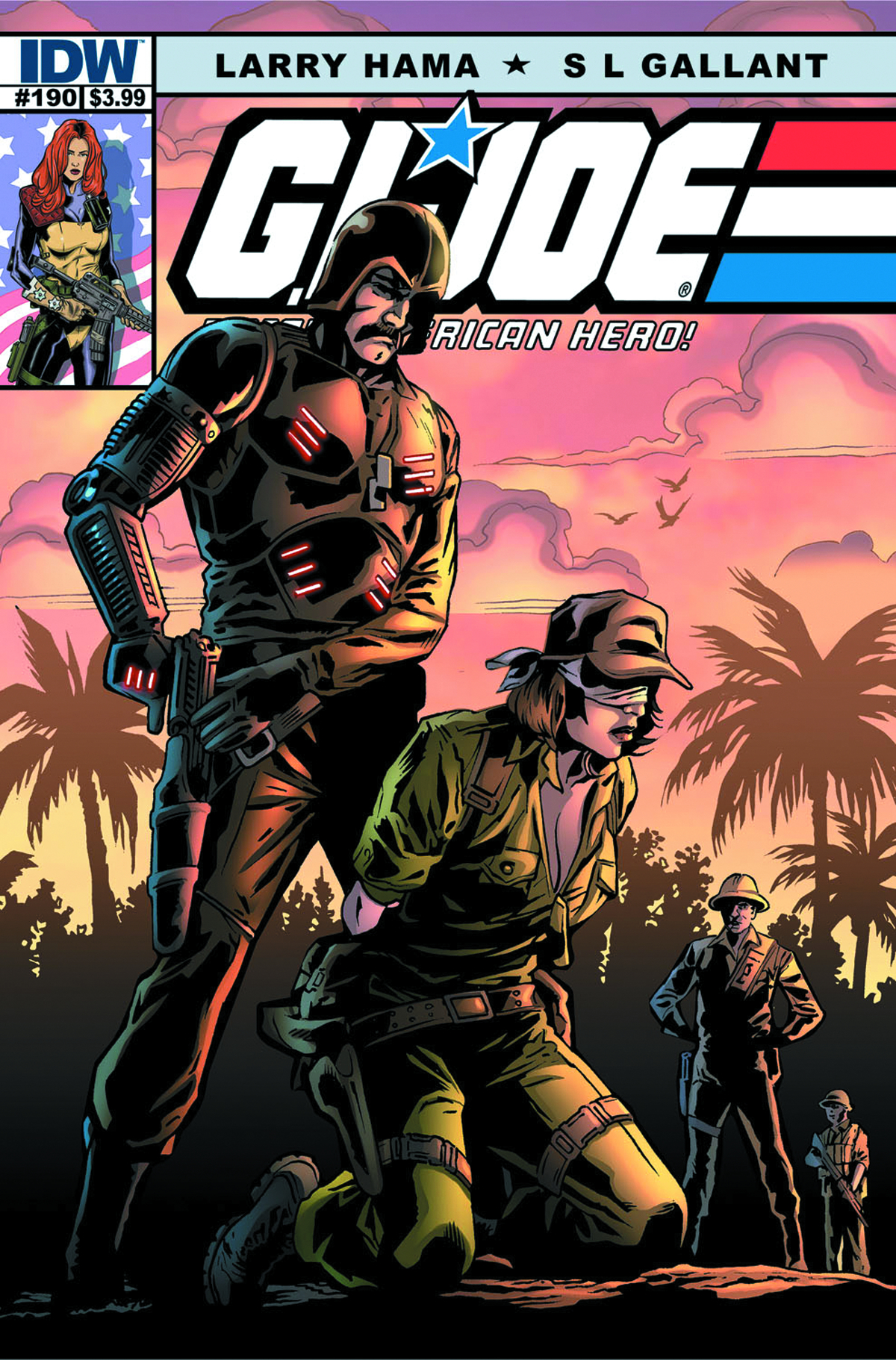 GI JOE A REAL AMERICAN HERO #190
