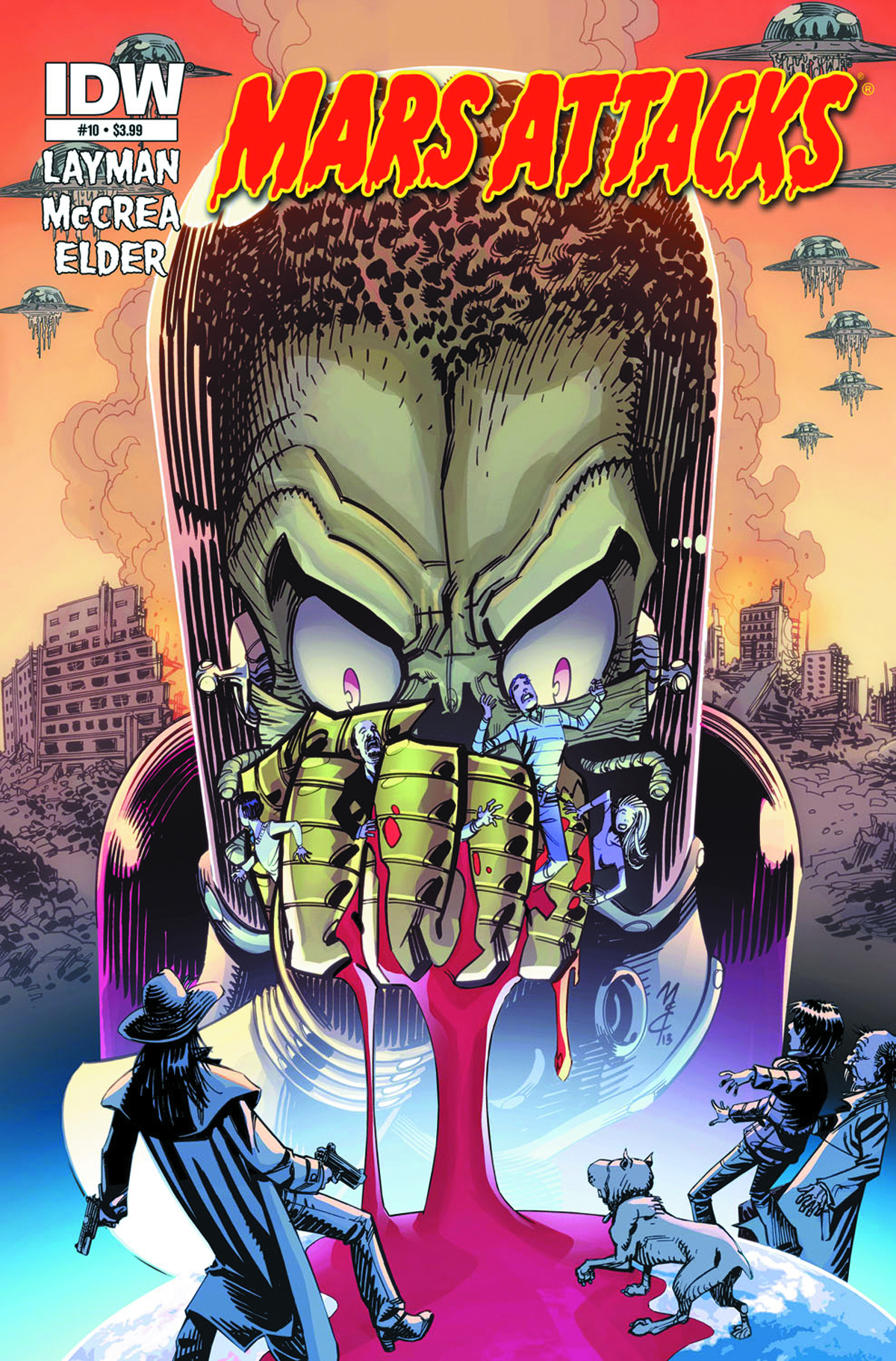 MARS ATTACKS #10